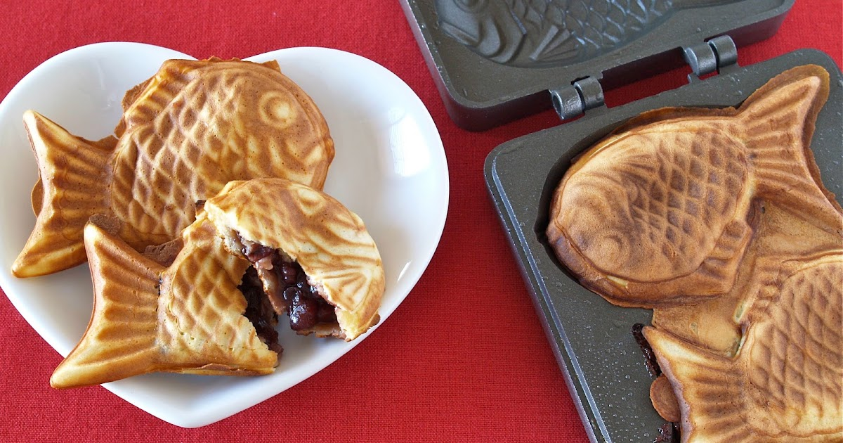 How To Make Taiyaki Video Recipe Create Eat Happy