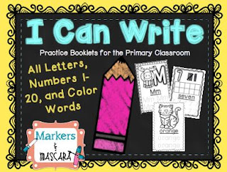 https://www.teacherspayteachers.com/Product/I-Can-Write-Letters-Numbers-and-Color-Words-1992165