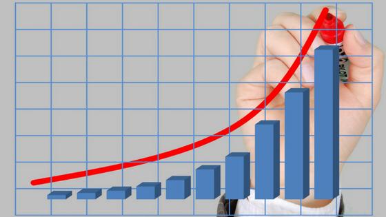 زيادة نسبة المبيعات