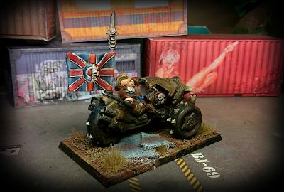 Warzone - Imperial - Fenris Bike - back