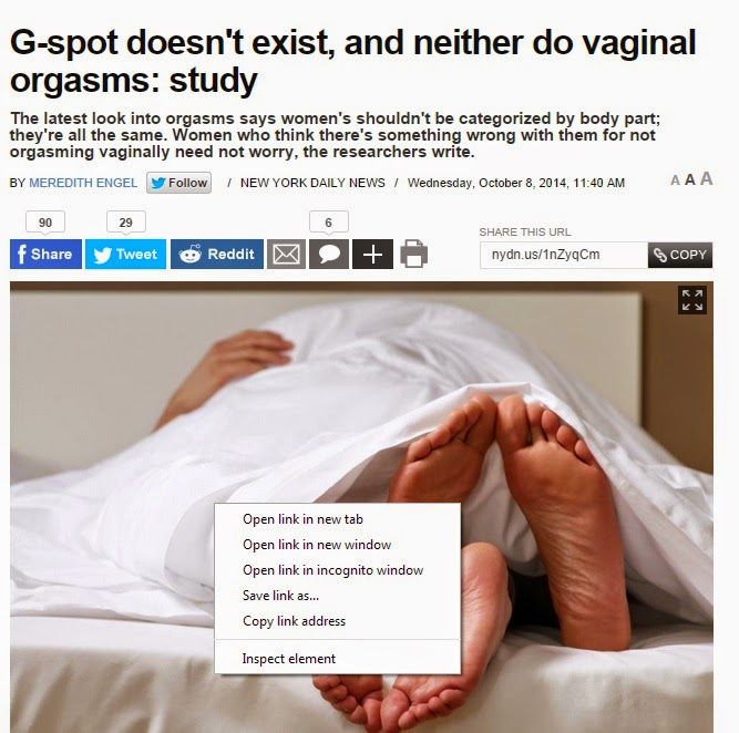 vaginal orgasm is a What