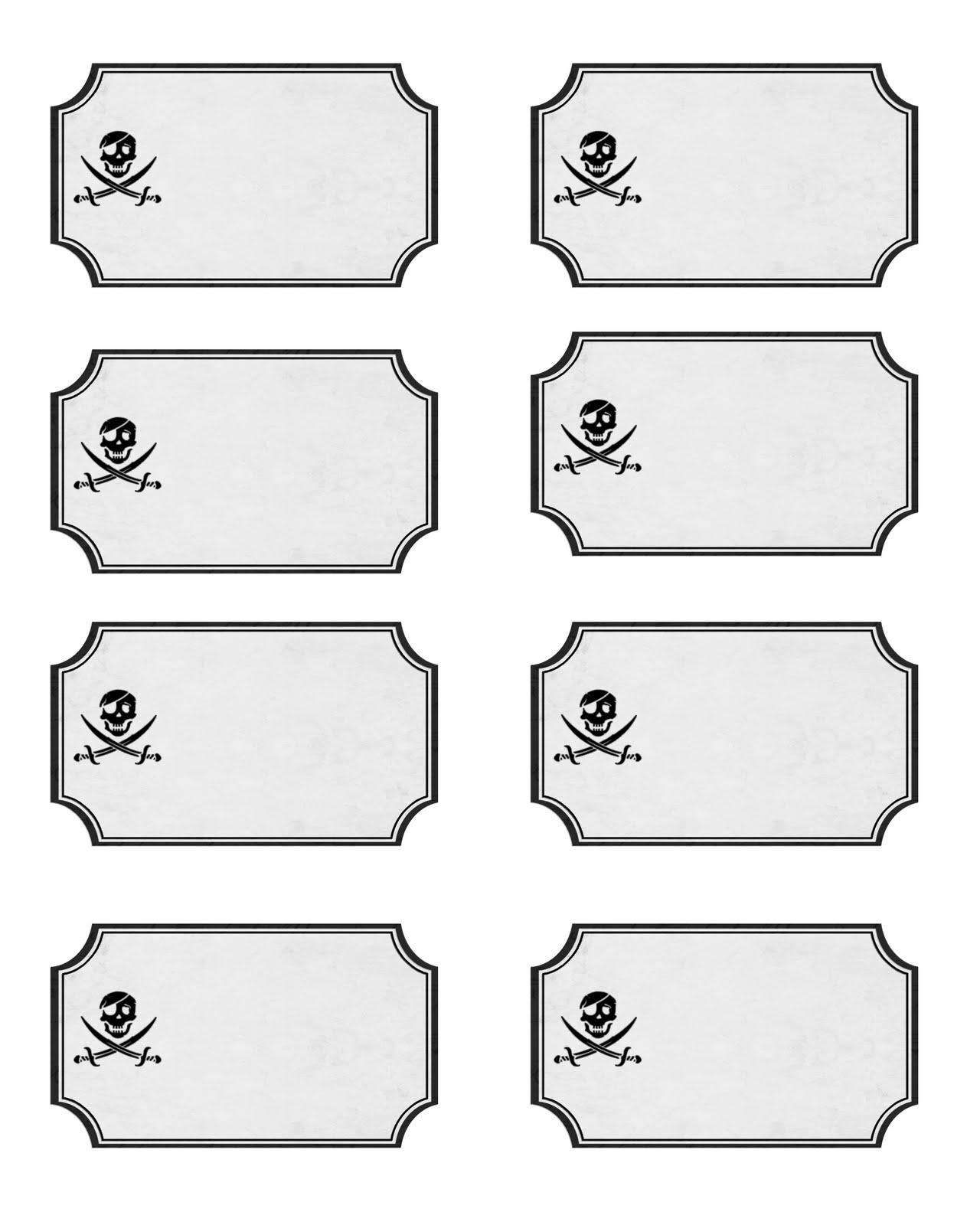Christmas Gift Catalogs Pirate Party And Printable Labels