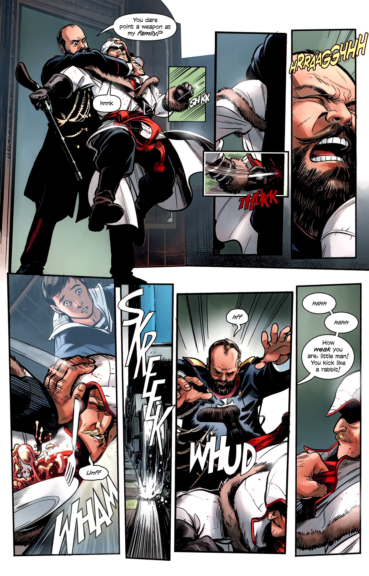 Read online Assassin's Creed: The Fall comic -  Issue #1 - 16