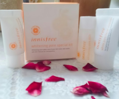 Innisfree Whitening Pore Series