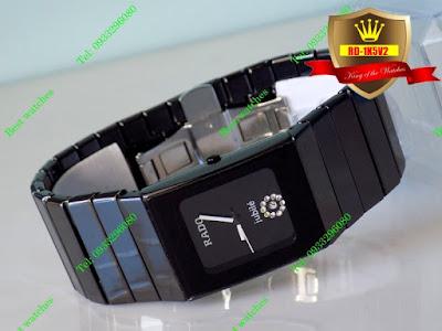 Đồng hồ Rado dây đá ceramic vàng RD 1K5V2