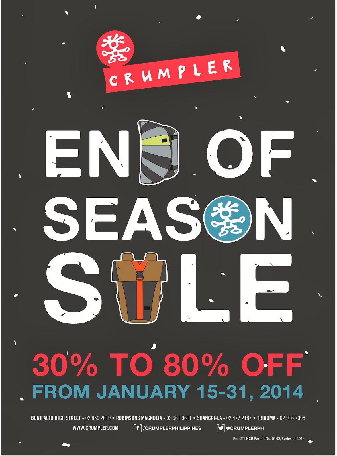 Crumpler's End Of Season Sale