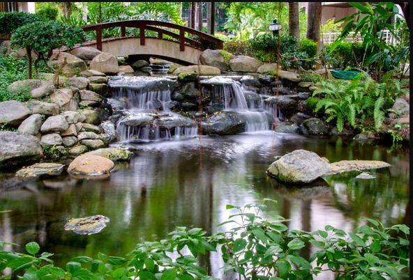 Japanische Gartendeko