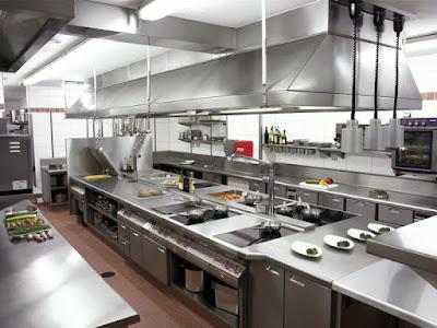 merawat dan membersihkan dapur stainless steel