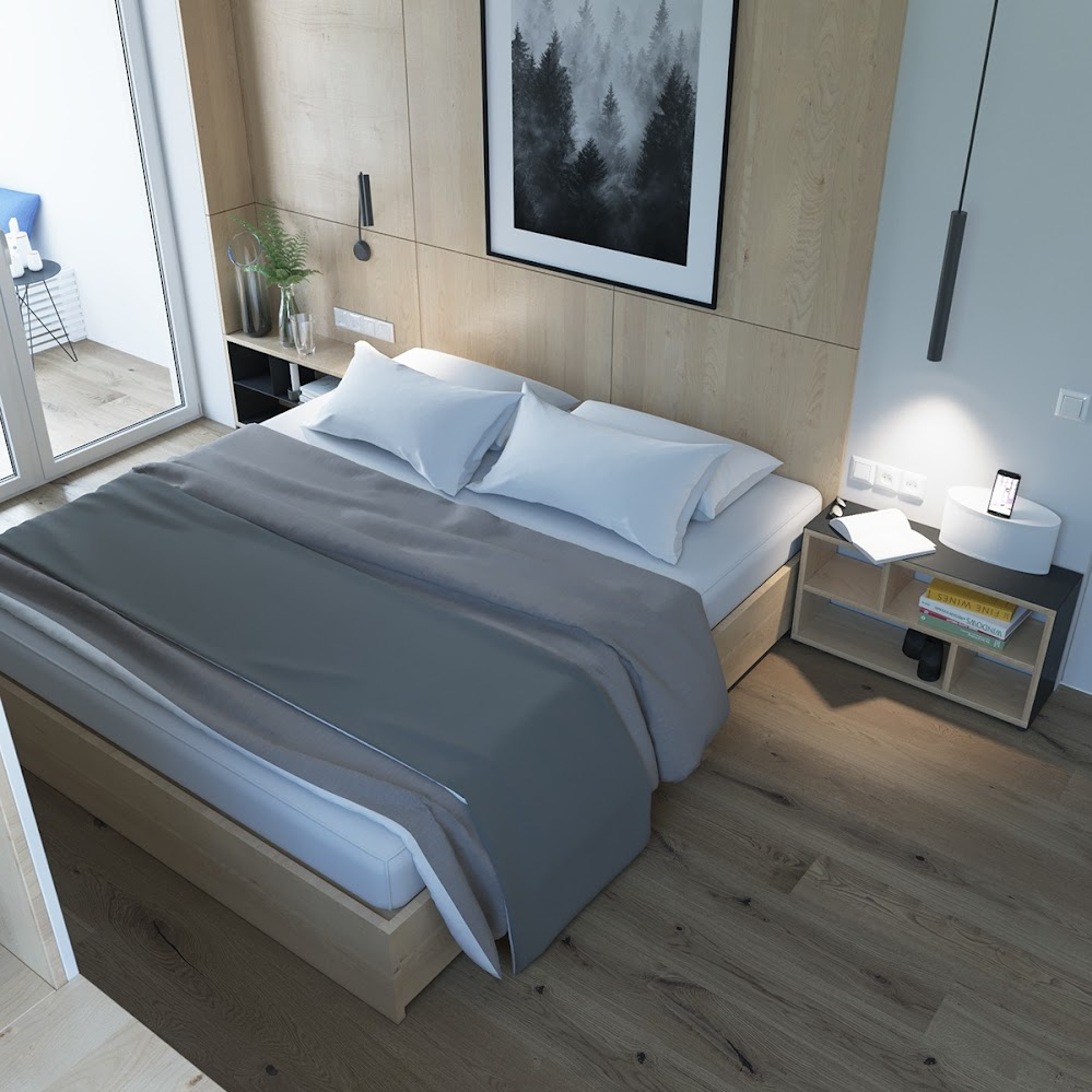 simple-bedroom-white-sheets-gray-bedding