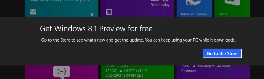 Windows 8.1 Reboot