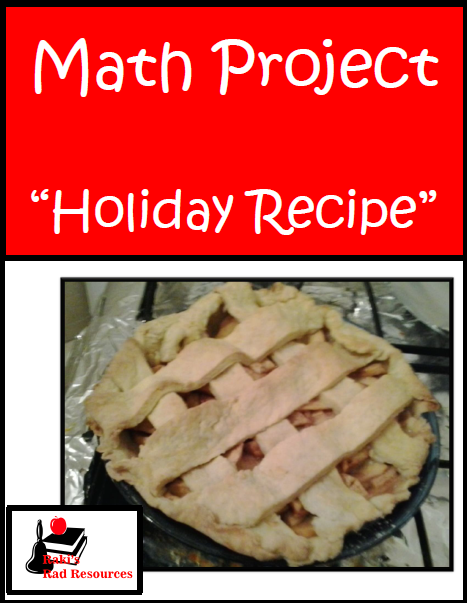 10 Tips to making projects easier for elementary students and lower level students - classroom suggestions from a seasoned teacher at Raki's Rad Resources. holiday recipe math project