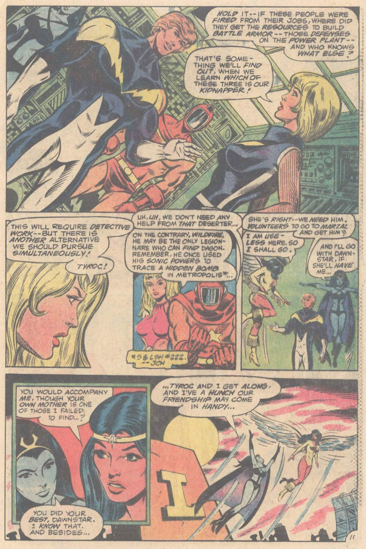 Legion of Super-Heroes (1980) 264 Page 20
