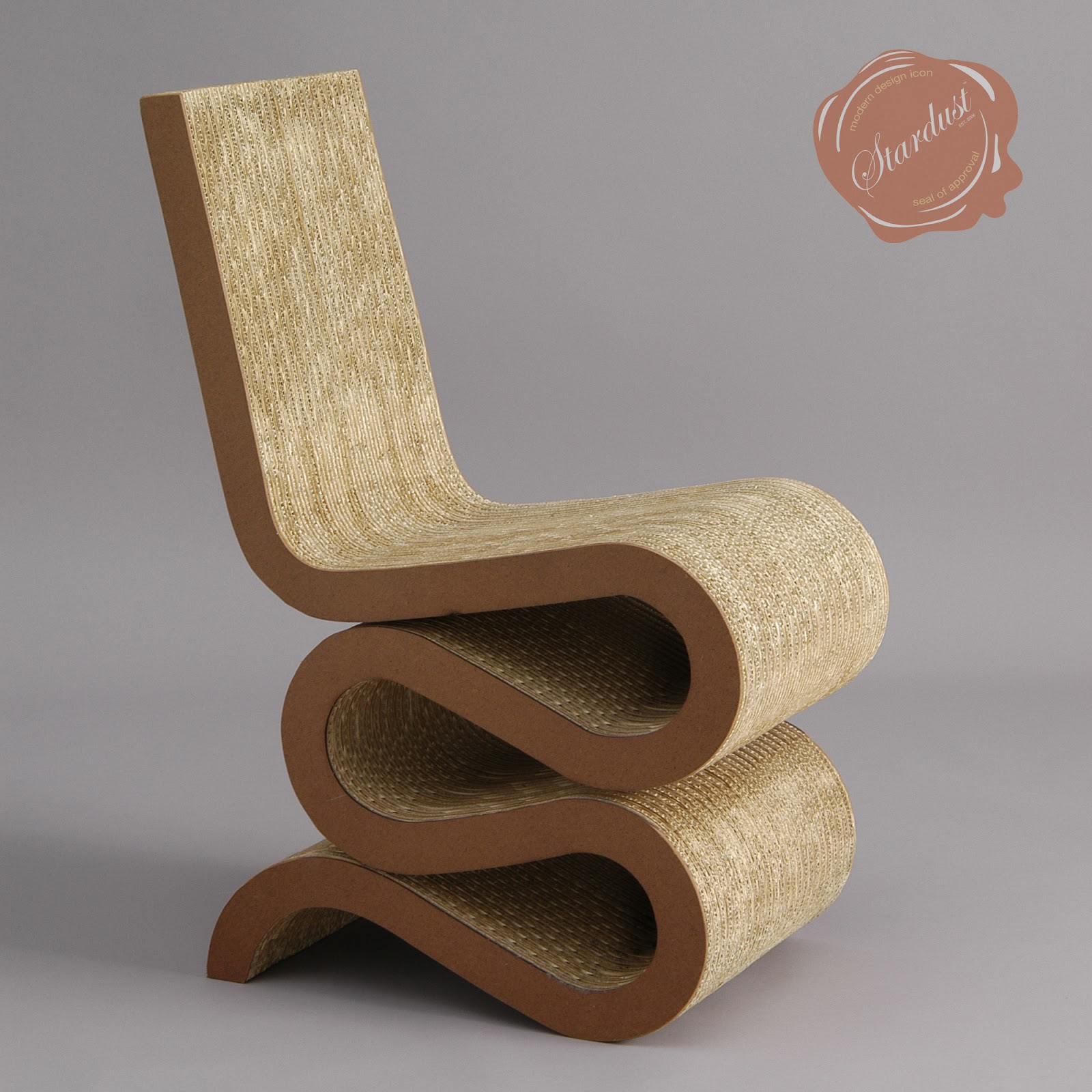 frank gehry chair patio glider chairs canada wiggle cardboard hardwood vitra
