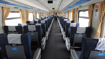 Nuevo tren a Córdoba por dentro