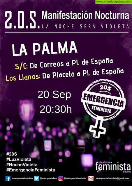 """Manifestaciones """"2OSEmergencia Feminista"""
