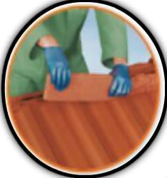 pose faitière de toit