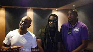 John Dumelo Record Song With Sarkodie (PHOTOS)