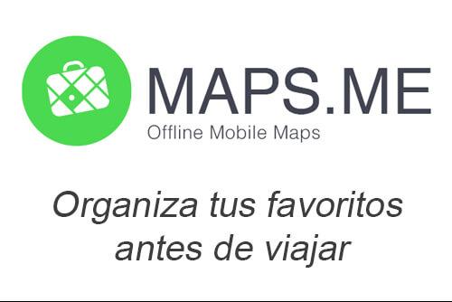 maps me organizar favoritos