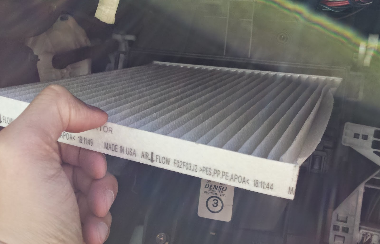 change cabin filter  mini clubman oil