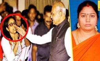 Governor : Banwarilal Pats Journalist on her cheeks | Nirmala Case
