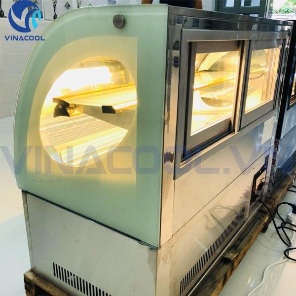 Tủ trưng bày bánh để bàn giá bao nhiêu để được bảo hành 18 tháng