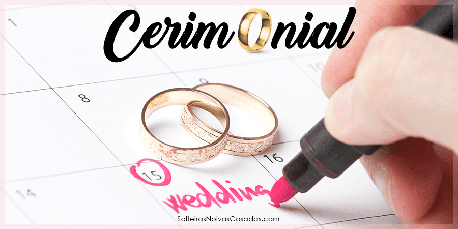 Modelo de Cerimonial de Casamento