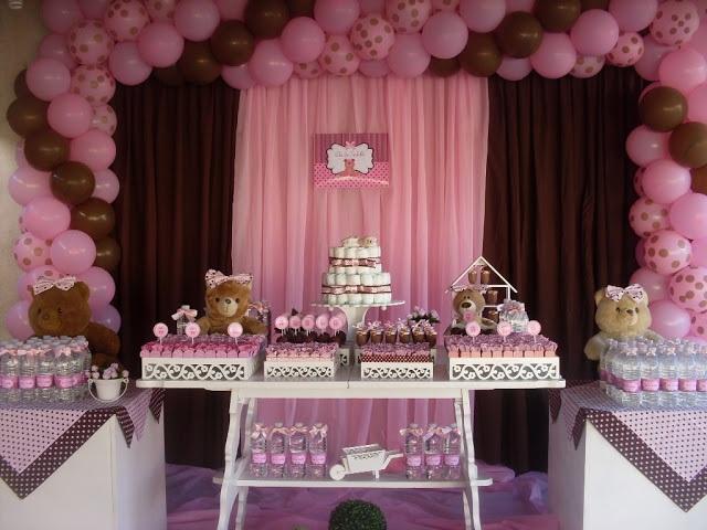 cha-de-bebe-tema-ursinho-decoracao-rosa