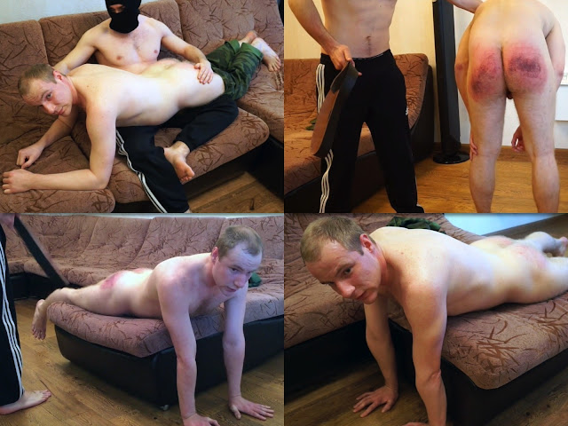 RusStraightGuys - Belting of russian hunky 25 y.o.