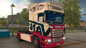 Scania RJL V8 Vans skin