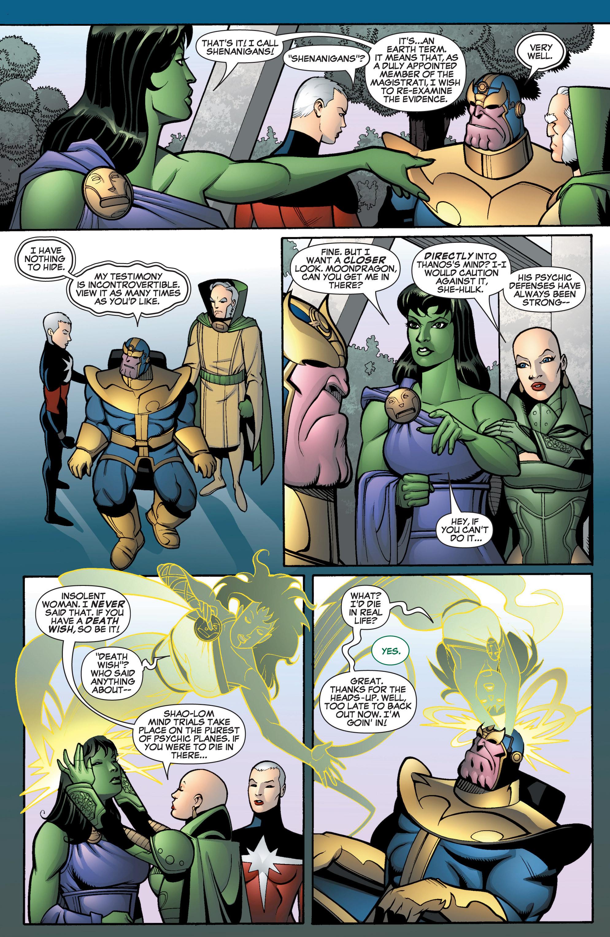 Read online She-Hulk (2005) comic -  Issue #13 - 4