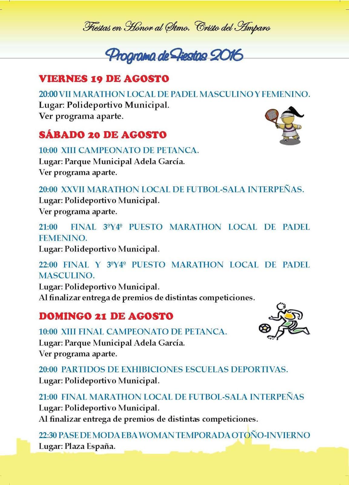 Ferias y fiestas de santa cruz del retamar 2016 for Muebles santa cruz de retamar