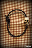 Lovelea's skull bracelet