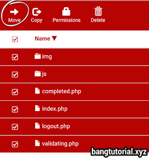 Select All File Script Phising 000webhost