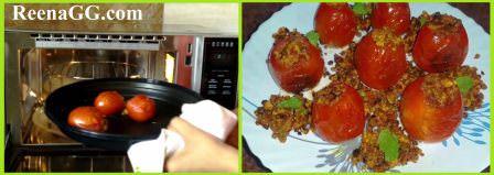 चीज राइस स्टफ्ड टोमैटो - Cheese Rice Stuffed Tomatoes Recipe step 4