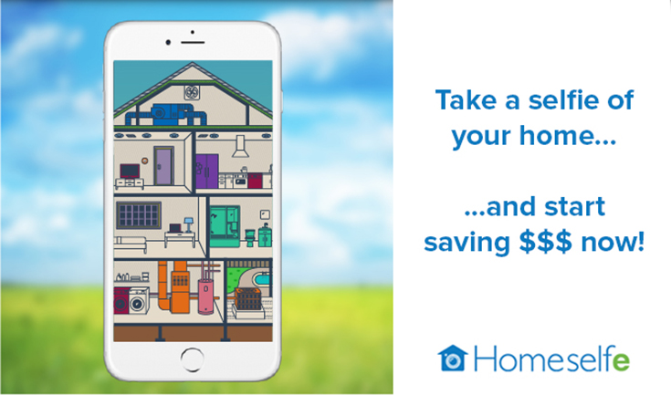 Save money each and every month AND help save the environment with one FREE app! Find out how HomeSelfe can help you and your home...