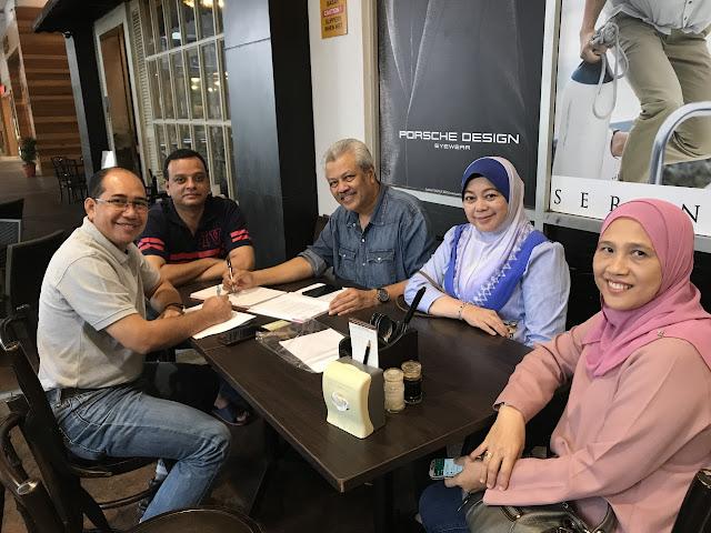 Hari Minggu Padat Dengan Aktiviti Keluarga dan Sahabat Handai