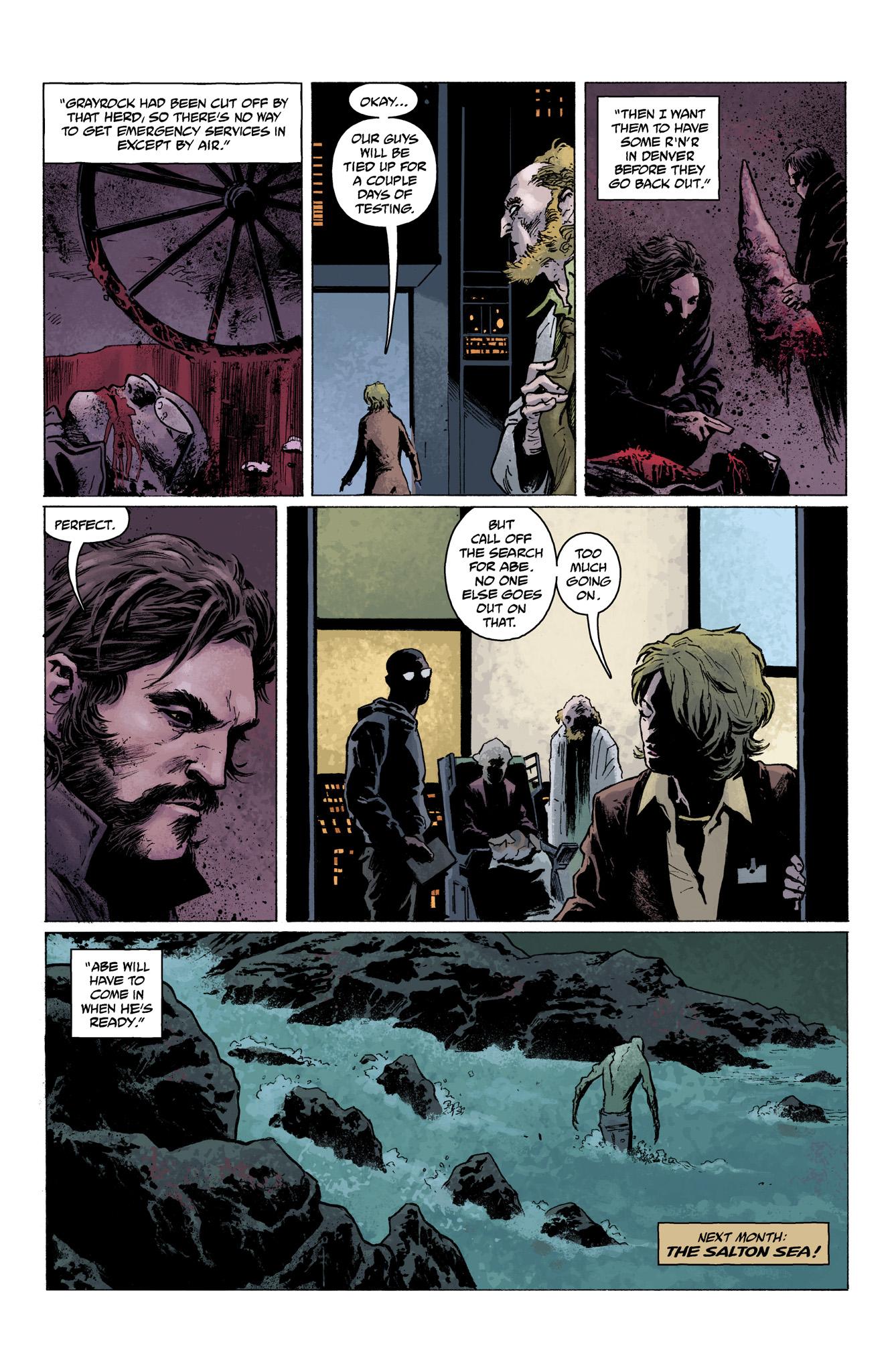 Read online Abe Sapien comic -  Issue #3 - 24