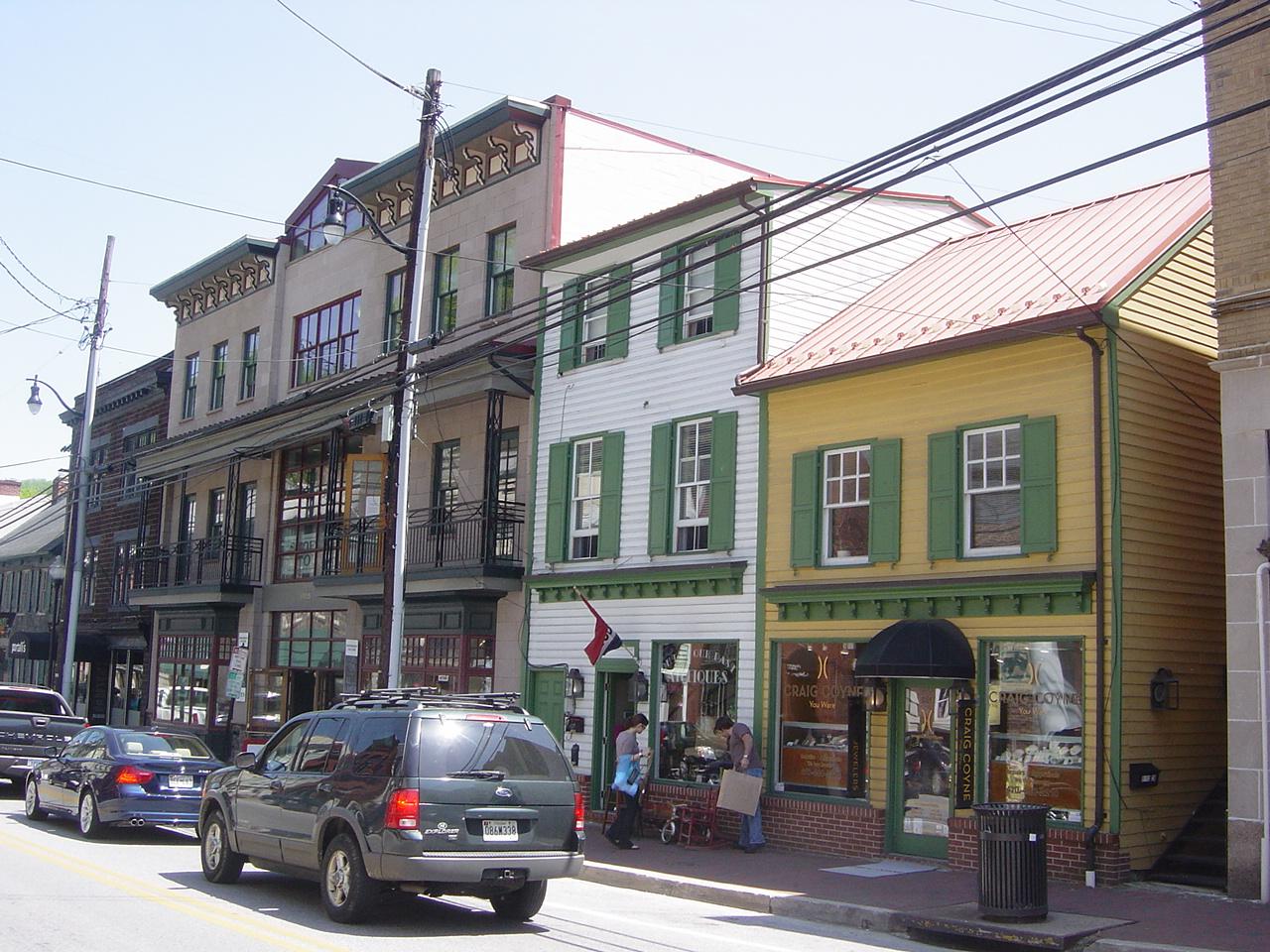Ellicott City Restaurants Downtown