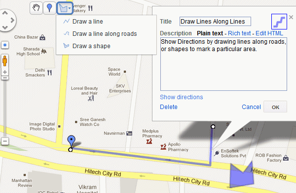Create Personal Google Maps with Custom Data, Places & Markers