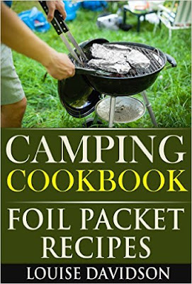 Foil packet recipes for camping all in this inexpensive Kindle book.