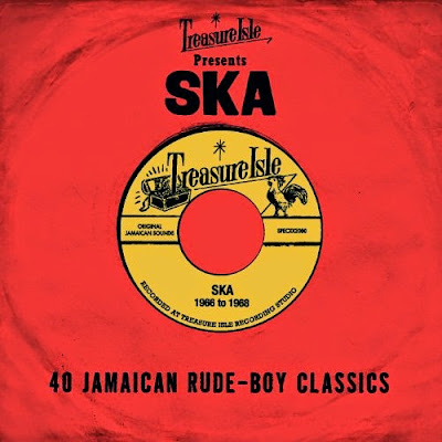 TREASURE ISLE PRESENTS SKA - 40 Jamaican Rude-Boy Classics - 1966 to 1968