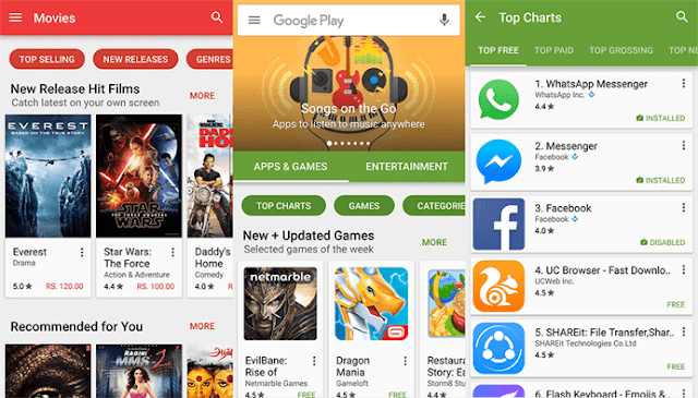Update Google Play Store v6.9.15 APK Fitur Antarmuka dan App Streaming