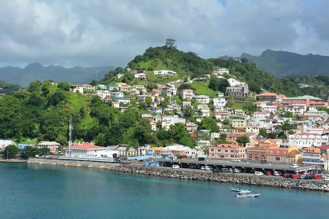 St. George Grenada hill