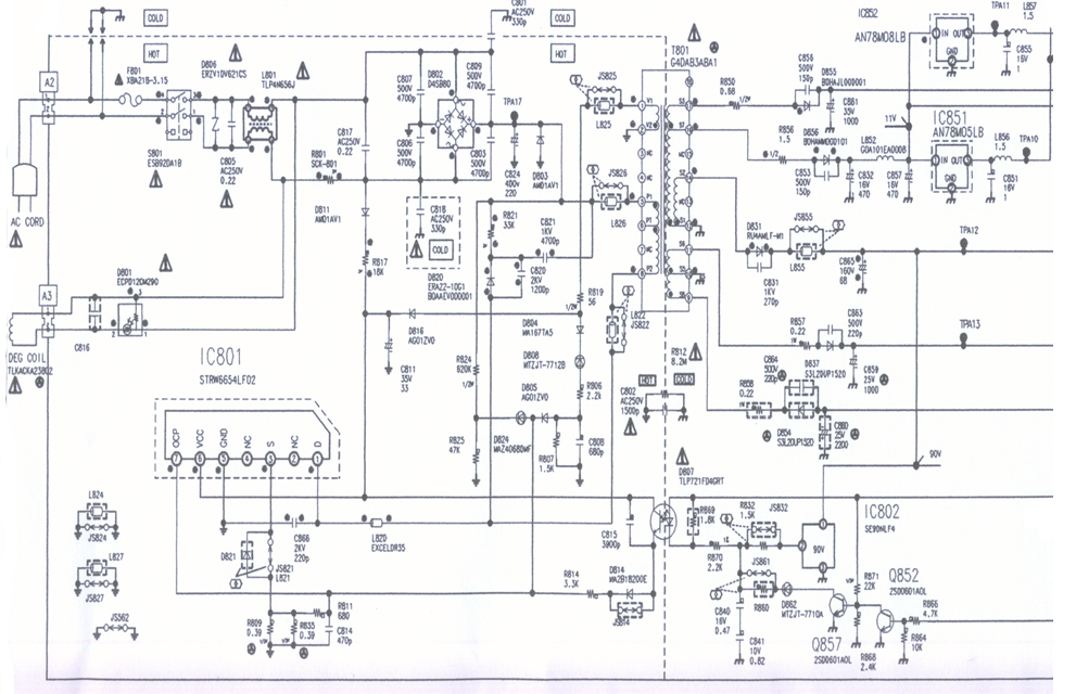 Switching Mode Power Supply Using Str Electronic Circuit
