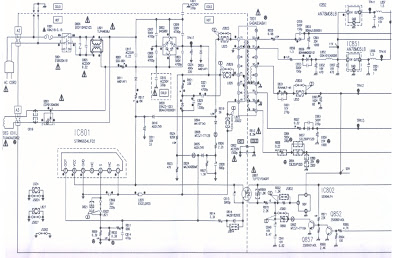 switcing power supply schematics