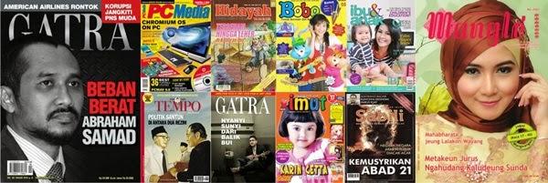 Ragam Bentuk Media Cetak, majalah, reka bentuk surat kabar, jurnal rozak
