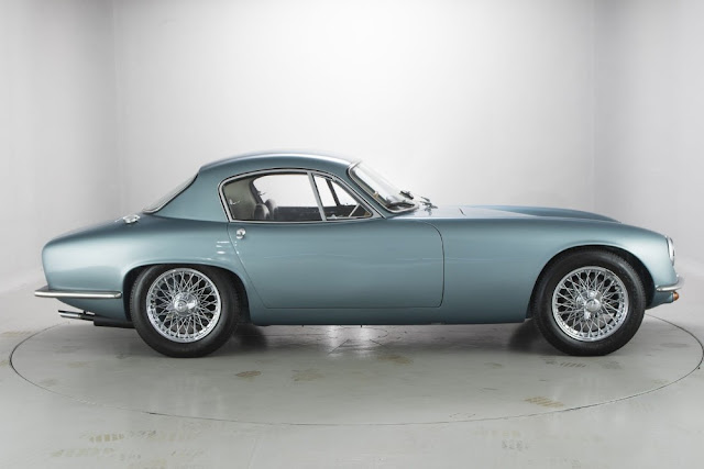 Lotus Elite 1950s British classic sports car