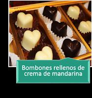 BOMBONES ENAMORADOS RELLENOS DE CREMA DE MANDARINA {MUY RICOS}