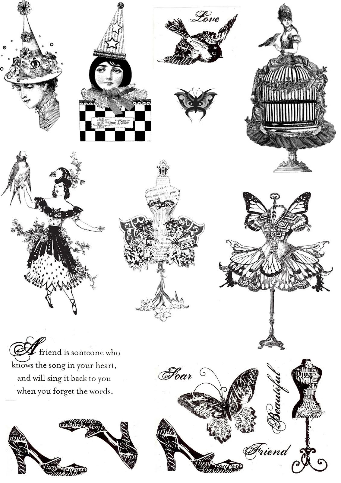 Коллекция картинок: Черно-белые картинки