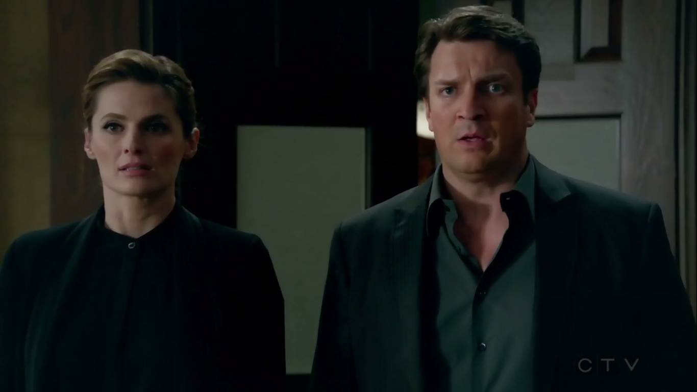 """Castle - Witness for the Prosecution / Dead Red - Review: """"Back on Track"""""""